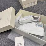 alexander mcqueen oversized sneakers white sneaker hologram