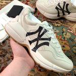 Shoes Gucci Rhyton NY New York Yankees Print sneaker