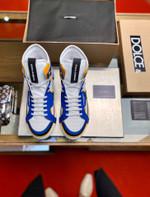 Dolce &GabbanaCustom 2.Zero high-top panelled sneakers