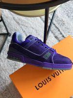 Shoes LV TRAINER purple