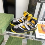Shoes Gucci Basket  blackYellow sneaker