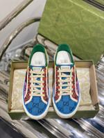 Shoes Gucci 1977 canvas tennis GG multicolor
