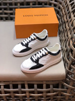 Shoes LV Louis trainer sneaker white