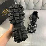 Shoes PRADA Couple Models black x white