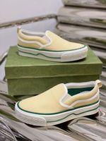 Shoes Gucci Tennis Classic Love series canvas
