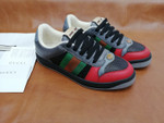 Shoes Gucci dirty shoes black sneaker