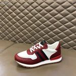 Shoes Gucci New GG low top red sneaker