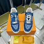 LV Louis-Vuitton 2021 Trainer Sneakers blue