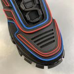 Shoes PRADA Couple Models black x red x blue