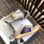 Shoes Gucci Dirty sneaker GG series distressed