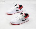 Nike Air Jordan 1 Low White Red Black 553558-118
