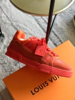 Shoes LV TRAINER Orange sneakers
