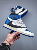 "Travis Scott x Fragment x Air Jordan 1 High OG SP ""Military Blue"""