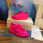 Alexander McQueen oversize sneakers woman man fuxia hot pink shoes