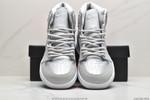Air Jordan 1 High OG gray and silver