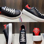 Shoes PRADA Soft Calf black x red