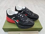 Shoes Gucci Black red Rhyton Sneakers