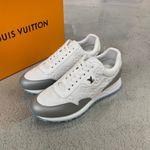 Shoes LV Louis Vuitton run away white sneaker
