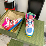 Shoes Gucci Basket high top sneaker 2021