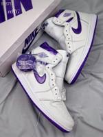 "Nike Wmns Air Jordan 1 High Retro OG""Court Purple""AJ1-CD0461-151"