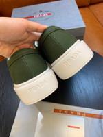 Shoes PRADA Original Canvas dark green