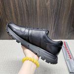 Shoes PRADA Lace-up New full black