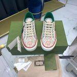 Shoes Gucci Tennis 1977 floral sneaker