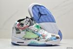 Nike Air Jordan 5 AV2405-900 sgniW graffiti M3 reflective tongue AJ5