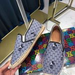 Shoes Gucci x mickey mouse classic fisherman shoes