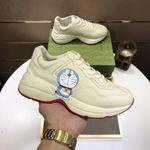 Doraemon x Gucci Rhyton 'Ivory' Marathon Running Shoes/Sneakers