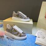 Alexander McQueen - Oversized paint-embroidery sneakers
