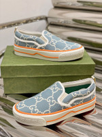 Gucci Womens WMNS Tennis 1977 'Light Blue' Sneakers/Shoes