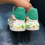 Alexander McQueen Men Sneakers 2019 Limit Graffiti Multicolor