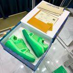 LV Louis Vuitton 2021 trainer sneaker green