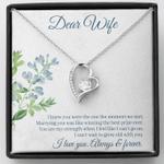 Dear Wife My Best Winning Prize Necklace Wedding Anniversary Gift