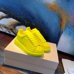 Shoes Alexander McQUEEN light Yellow sneaker