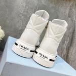 Shoes PRADA 2021 Peterdepotter Miuccia Raf Simons high white