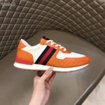 Shoes Gucci ACE gg orange