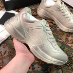 shoes  Gucci Wmns Rhyton Distressed Ivory 550046-A9L00-9522 sneaker
