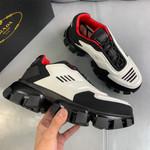 Shoes PRADA Couple Models white x black x red