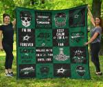 Fan Dallas Stars Quilt Blanket Amazing Gift Idea