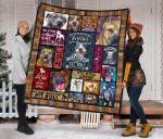 Mommy Pit Bull Quilt Blanket