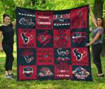 Fan Houston Texans Quilt Blanket Amazing Gift Idea