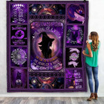 November Girl The Soul Of A Witch Quilt Blanket