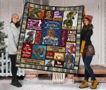 Mommy Dachshund Quilt Blanket