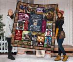 Mommy Rottweiler Quilt Blanket