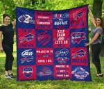 Fan Buffalo Bills Quilt Blanket Amazing Gift Idea