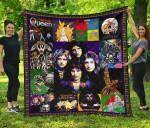 Queen Band Quilt Blanket Musics Fan Gift Idea