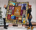 Mommy Labrador Quilt Blanket