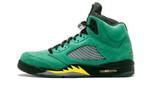 Air Jordans 5 Retro Oregon Ducks CK6631-307